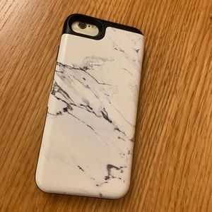 Accessories - iPhone 6/7 marble stone wallet case